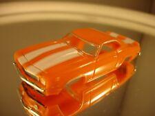 1969 Z28 Camaro Orange/White MoDEL MoToRING  HO slot car Fits T-jet  Body Only