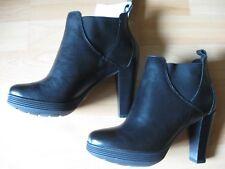 Rockport tru walk Damen Stiefelette EUR 36,5 UK 3,5 schwarz mit Absatz NEU
