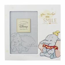 "Disney Dumbo ""You Make Me Smile"" Photo Frame baby Gift  NEW  26409"