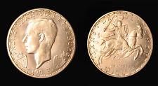 Luxembourg 1946 100 Fr. Scarce CH BU, Rare Restrike, Mtg 2,000 coins