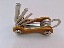 Mac Tools Mini Allen Wrench Hex Screwdriver Set Folding Gold