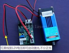 Stable focusable real 150mw 405nm purple laser module with TTL 12V longlife work
