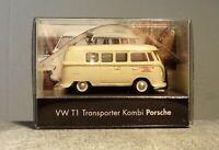 Wiking 1:87 41BM08 VW T1 Transporter Kombi Porsche neuwertig mit OVP