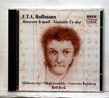 ROLF BECK, ARMENTIA, BRAUN - ETA HOFFMANN miserere, symphony KOCH SCHWANN CD NM