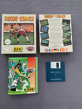 Rugby Coach - OVP - PC 3,5 Disk - IBM MS-DOS - D&H Games