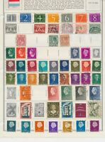 345 STAMPS FROM THE NETHERLANDS. SOME VERY EARLY. MOSTLY USED WITH SOME MINT