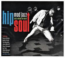 HIP SOUL - MOD JAZZ AND A WHOLE LOT MORE - VARIOUS ARTISTS (NEW SEALED 2CD)