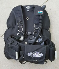 New listing NEW!! Genesis Recon 75 Weight Integrated Scuba Buoyancy Compensator BCD Large!