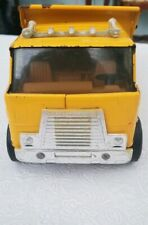 "Vintage Toy Erlt International Dump Master Yellow Truck ""For the Big Haul"""
