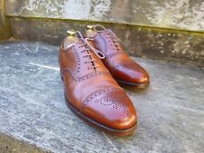 EDWARD GREEN VINTAGE BROGUES – BROWN / TAN – UK 10 (NARROW) – EXCELLENT COND