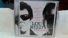 Rare Lou Reed Live In 1972 NEW                                            cd2727