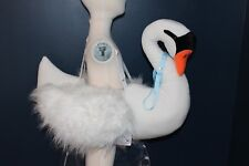 Boutique Swan 3-D Bjork Princess Ugly Duckling Costume Kids White Girls 3-7 NEW