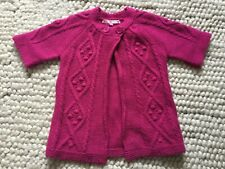 John Lewis Girls Short Sleeved Pink Cardigan Age 7
