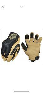 Mechanix Wear CG40-75-009CG Heavy Duty Gloves - MEDIUM Tan/Black New 1 pair