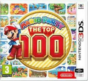 Mario Party The Top 100 - Nintendo 3DS Game.  Fast Dispatch !!  VGC