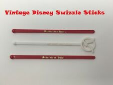 Vintage Disneyland Hotel & & Disney World Village Swizzle Sticks Stirrers