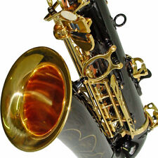 Karl Glaser Alt Saxophon schwarz gold + Koffer + Mundstück + Blättchen, Neu+OVP
