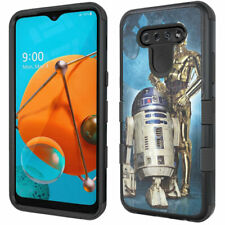 Star Wars C3P0 & R2D2 Rugged Shockproof Armor Impact Case for LG Reflect / K51