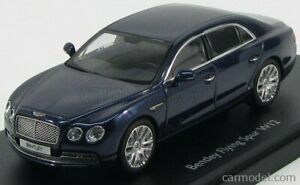 Kyosho 05561pc scala 1/43 bentley flying spur w12 2013 peacock blue met