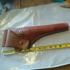 """NOS-EL PASO SADDLERY LEATHER HOLSTER--VAQUERO 7.5""""--GREAT LOOK--RIGHT HANDED"""