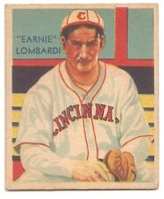 "1934-1936 Diamond Stars GB #36 ""Earnie"" Lombardi Error"