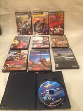 Lot Of 10 Playstation 2 PS2 Games Racing Games Tested