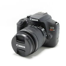 Canon EOS Rebel T6 DSLR Camera with EF-S 18-55mm f/3.5-5.6 IS II Lens (Black)