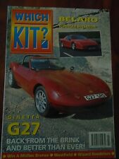 Which Kit? Jul 1993 Ginetta G27, Belaro, Wizard Roadsters