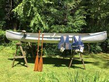 MichiCraft 15' Aluminum Canoe