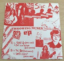 "THROWING MUSES Self-Titled EP (1984) 7"" EP Pink Vault RE-ISSUE Alternative RARE"