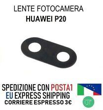VETRO LENTE FOTOCAMERA POSTERIORE CAMERA HUAWEI P 20 EML-L09 BIADESIVO