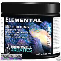 Brightwell Elemental 400 gram Powder Reef Building Supplement Free USA Shipping