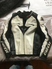Blouson DAINESE cuir DELMAR taille 48 + back Space G2