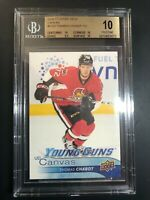 2016-17 Upper Deck Thomas Chabot Young Guns Canvas Rookie BGS 10