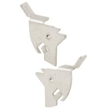 """3 Pk Stamped Aluminum Knife Latch For 1/2-7/8"""" Sliding Window Screen Frames Mill"""