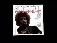 Jimi Hendrix Vintage Stone Free Tribute Promotional Window Sticker Unused 1993
