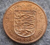 JERSEY ELIZABETH II 1966 1/12 SHILLING, 900th ANNIV BATTLE OF HASTINGS, UNC