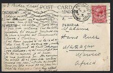 MOROCCO AGENCIES 1914 POSTCARD MAZAGAN