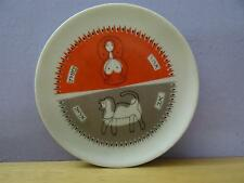 israel naaman Porcelain small plate Virgo & Leo sign of the zodiac vtg hebrew