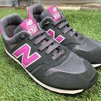 UK5 Womens New Balance 373 Gym Walking Running Trainers - Casual Wear - Pink