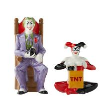 DC Comics Joker and Harley Quinn Salt and Pepper Shakers 6003882