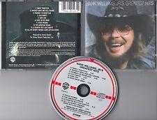 Hank Williams CD GREATEST HITS (c) 1982 TARGET