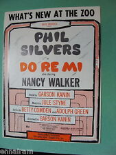 What's New at the Zoo from Do Re Mi 1960 Phil Silvers by Styne, Comden & Green
