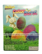 DECORATING KIT* 14pc Easter Egg COLOR BURST Non-Toxic Food Colors DUDLEY'S 2/2