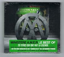 ♫ - MINISTERE A.M.E.R - LES MEILLEURS DOSSIERS - 20 TITRES - 2014 - NEUF NEW - ♫