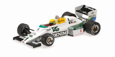 1 43 Minichamps Williams Ford Fw08c test Donnington Park Senna 1983