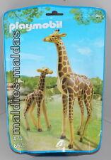 Playmobil 6640 Zoo Giraffe mit Baby NEU/OVP Tiere