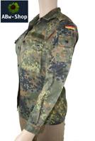 orig. Bundeswehr Feldbluse Hemd Jacke weiblich für Frauen / Damen Tarndruck sexy