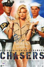 Erika Eleniak Signed Chasers 11x17 Photo PSA/DNA COA Autograph 1994 Movie Poster