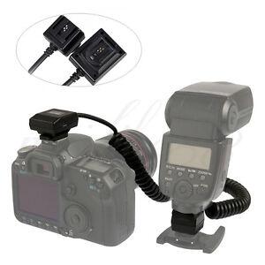 Meike MK-FA01 TTL Sync Cords Cable Flash Light Off Sony  Minolta DSLR Speedlite
